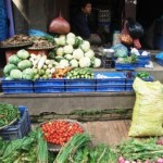 And more veg for sale, this time in Bakhtapur