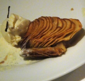 Apple tart...once again my appetite took over before capturing the photo