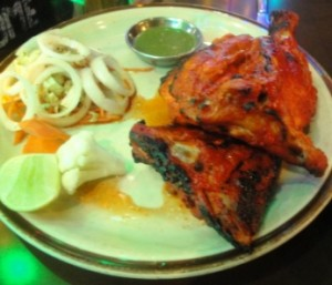 Third Eye's tasty tandoori chicken