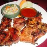 Yin Yang's starter of BBQ pork slices