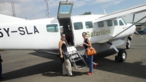 Jetting off to the Masai