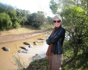 FooDiva on the hippo trail