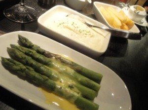 Our trio of side dishes