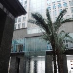 Ritz-Carlton DIFC's ten-storey waterfall