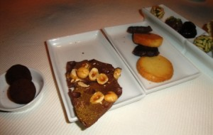 And more petit fours