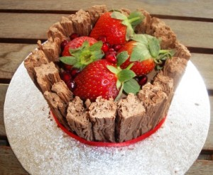 Mini flake cake
