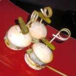 Mini pastrami sliders