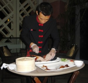 Our Peking Duck carver