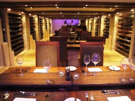 Ayia Anargiri wine cellar