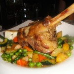 Ayia Anargiri's Cypriot lamb shank