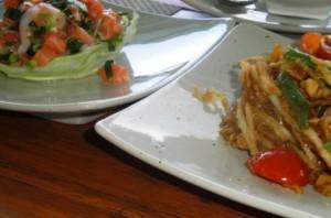 A couple of Thai salads