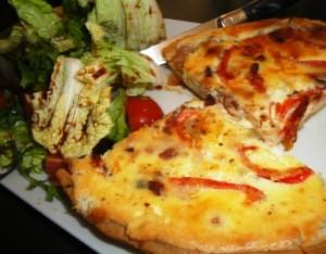 Il Paesano's quiche lorraine (single portion!)