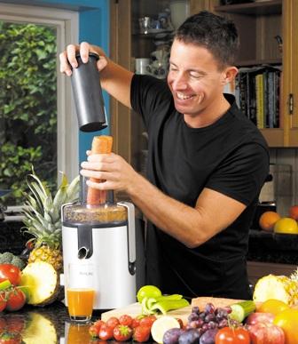 Jason, the Juice Master juicing the world