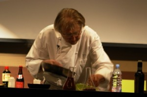 Pierre Gagnaire in action
