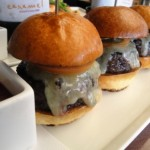 Caramel's trio of Kobe sliders