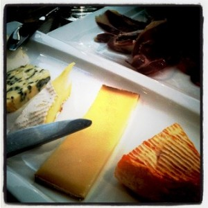 Cheese and charcuterie