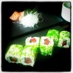 Sashimi & sushi nigiri