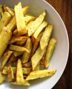 Spicy chips a la AirFryer