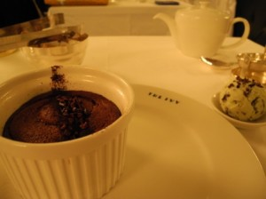 Choc pudding