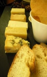 The Rib Room - Cheese platter