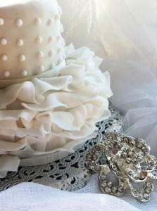Wedding celebration cake