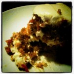 Slice of carrot cake courtesy of my i-phone