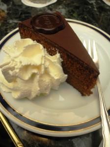 Cafe Sacher's Sacher Torte