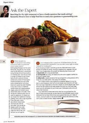 Gourmet December - Ask FooDiva
