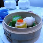 Steamed seafood dim sum