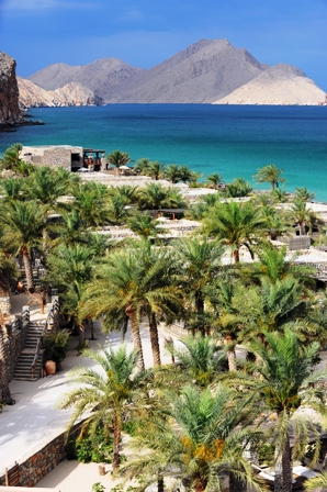 View of Six Senses Zighy Bay