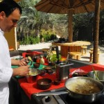 Chef Ali's cooking class