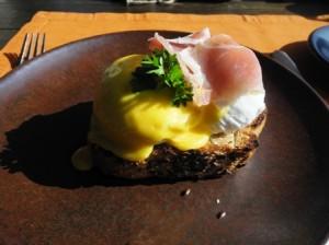 7. Eggs benedict