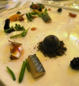 Thomas Buhner's three-star Michelin dish from Vienna