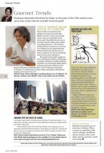 Expert column - Gourmet March 2012