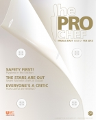 The Pro Chef Middle East magazine