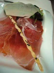 Prosciutto (Parma or San Daniele?) and melon