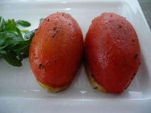 Tomato tatin
