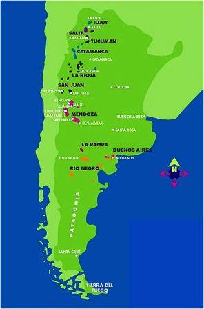 Argentina's wine regions