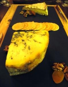 Asado's cheese board