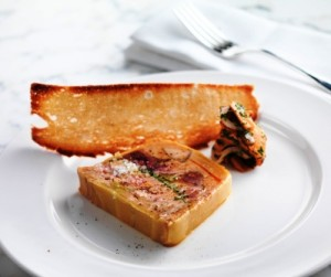 Alfie's - game terrine with pickled girolles