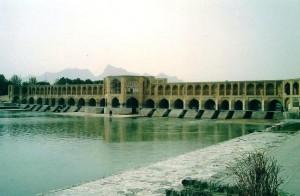 Isfahan bridge in Iran - 2003