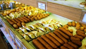 Traditional Cypriot pastries and koupes