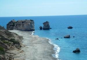 Petra Tou Romiou (Aphrodite's Rock) - on Cyprus' west coast
