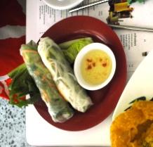 Goi Cuon - fresh Vietnamese rice paper rolls