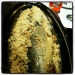 Branzino - salt crusted sea bass