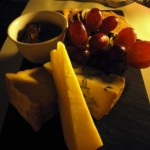 British cheese platter