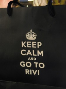 Rivington take-away bag