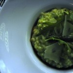 Mix at W St Petersburg - asparagus risotto