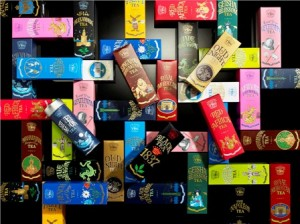TWG Tea's maze of tea