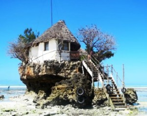 The Rock restaurant - Zanzibar